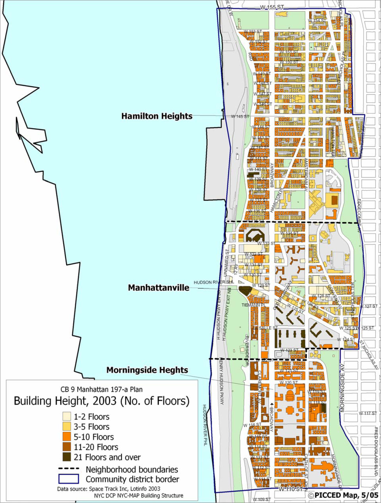 Manhattanville Campus Map.The District Manhattan Community Board 9